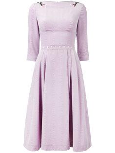 платье с аппликациями в виде ножниц Olympia Le-Tan