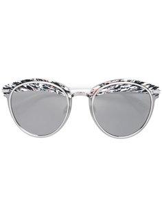 солнцезащитные очки с круглой оправой Dior Eyewear