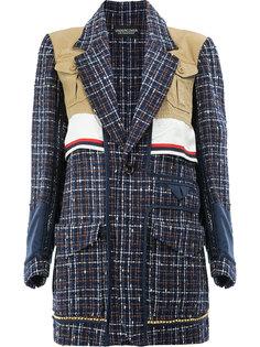 трикотажный свободный пиджак  Undercover