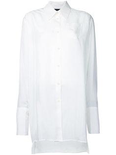 рубашка с широкими манжетами Yang Li