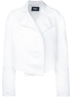 укороченный пиджак Yang Li