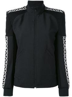 куртка-бомбер с подчеркнутой линией плеча Junya Watanabe Comme Des Garçons