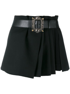 мини-юбка с запахом Alexander McQueen