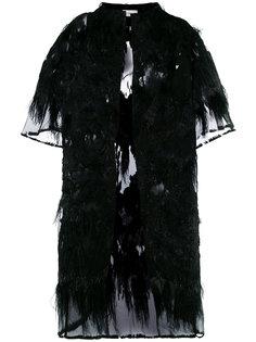 прозрачное декорированное пальто Faith Connexion