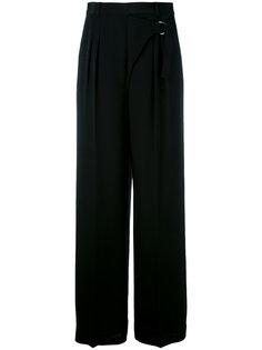 брюки-палаццо с эффектом запаха  T By Alexander Wang