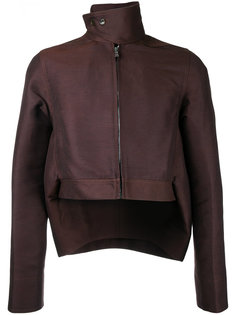 укороченная асимметричная куртка Rick Owens