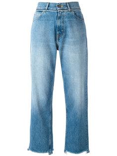 укороченные высветленные джинсы Golden Goose Deluxe Brand