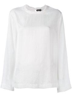 блузка с длинными рукавами Tom Ford