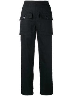 прямые брюки Chloé