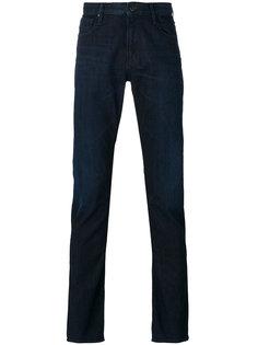 джинсы кроя слим с подвернутым подолом Armani Jeans