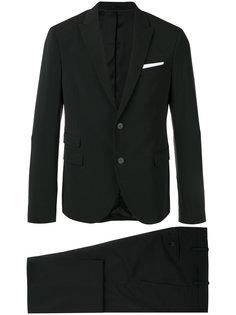 костюм с пиджаком на двух пуговицах Neil Barrett