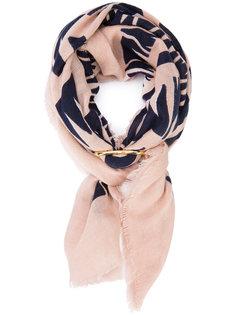 шарф с графическими стрелками Lizzie Fortunato Jewels