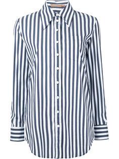 полосатая рубашка бойфренда Michael Kors