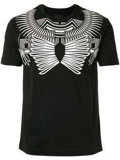 футболка с геометрическим принтом Les Hommes