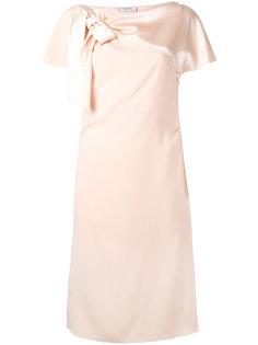 платье декорированное бантом Lanvin