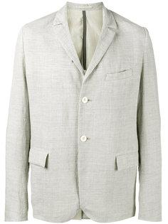 однобортный пиджак с мятым эффектом Kazuyuki Kumagai