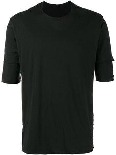 двухслойная футболка с бахромой Kazuyuki Kumagai