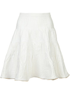 вязаная юбка с металлической окантовкой Sophie Theallet
