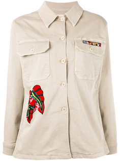 куртка с вышивкой из пайеток P.A.R.O.S.H.