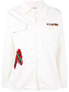 куртка с вышивкой пайетками P.A.R.O.S.H.