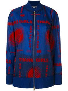 куртка-бомбер с вышивкой  Stella McCartney