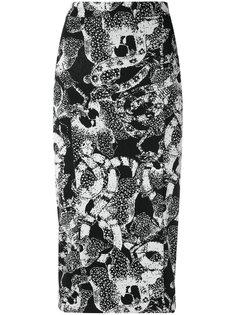 printed midi skirt Tufi Duek