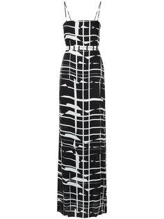 belted gown Tufi Duek