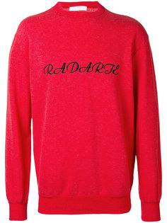 объемный свитер с вышивкой Rodarte