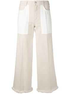укороченные брюки клеш Stella McCartney