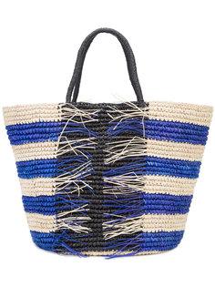 плетеная сумка-тоут  Sensi Studio