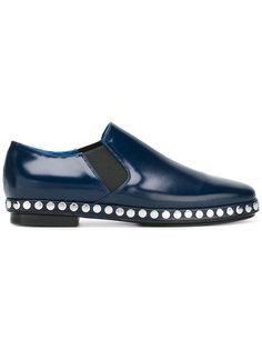 туфли с заклепками на подошве Kenzo