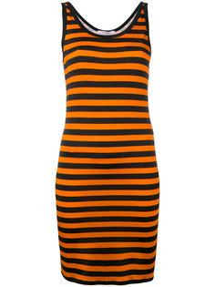 полосатое трикотажное платье  Givenchy