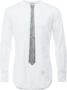 рубашка с имитацией галстука Thom Browne