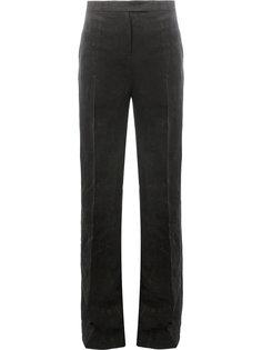 фактурные брюки с завышенной талией  Yang Li