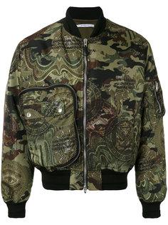 куртка с камуфляжным принтом Givenchy