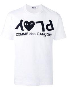 футболка с принтом-логотипом Play  Comme Des Garçons Play