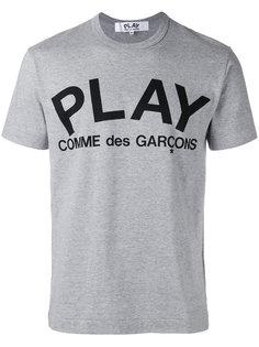 футболка с логотипом  Comme Des Garçons Play