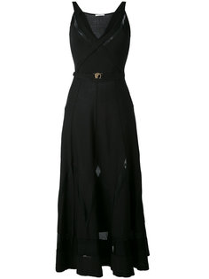 платье длины миди без рукавов Versace Collection