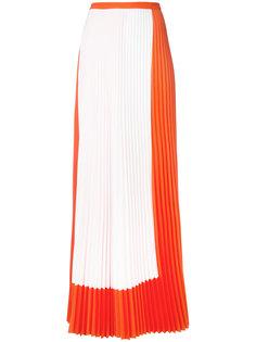 плиссированная юбка макси  Haider Ackermann