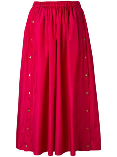 юбка длины миди с кнопками Kenzo