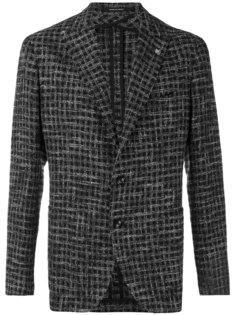 классический тканый пиджак Tagliatore