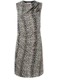 леопардовое платье Abito Saint Laurent