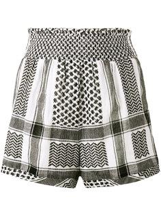 шорты с завышенной талией keffiyeh  Cecilie Copenhagen