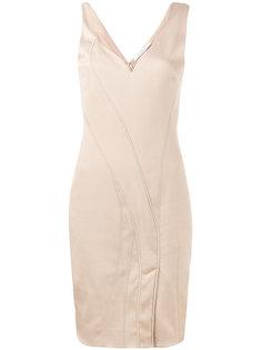 асимметричное платье без рукавов Givenchy