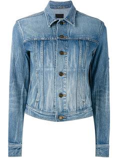 укороченная джинсовая куртка  Saint Laurent