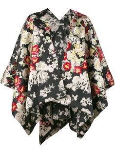 каскадный пиджак с цветочным принтом  Ermanno Gallamini