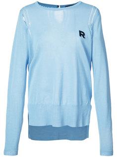 свитер с логотипом Rochas