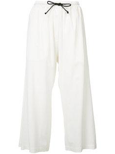 укороченный брюки на шнурке Isabel Benenato