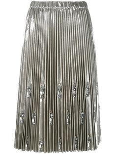 декорированная плиссированная юбка Nº21