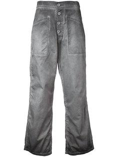 укороченные расклешенные джинсы  Rta